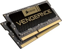 Corsair - Memória Notebook - Corsair Vengeance 16GB 1600MHz CL10 DDR3 SO-DIMM memória kit (2x8GB)