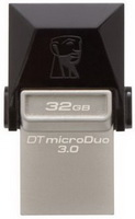 Kingston - Pendrive - Kingston 32GB microDuo microUSB/USB3.0 pendrive