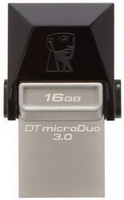 Kingston - Pendrive - Kingston 16GB microDuo microUSB/USB3.0 pendrive