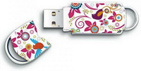 Integral - Pendrive - Integral Xpression Bird/Flower 8Gb USB2.0 pendrive