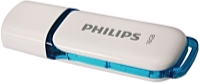 Philips - Pendrive - Philips Snow Edition FM16FD70B/10 16Gb USB2.0 pendrive, fehér/kék