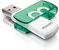 Philips - Pendrive - Philips Vivid Edition 8GB USB2.0 pendrive