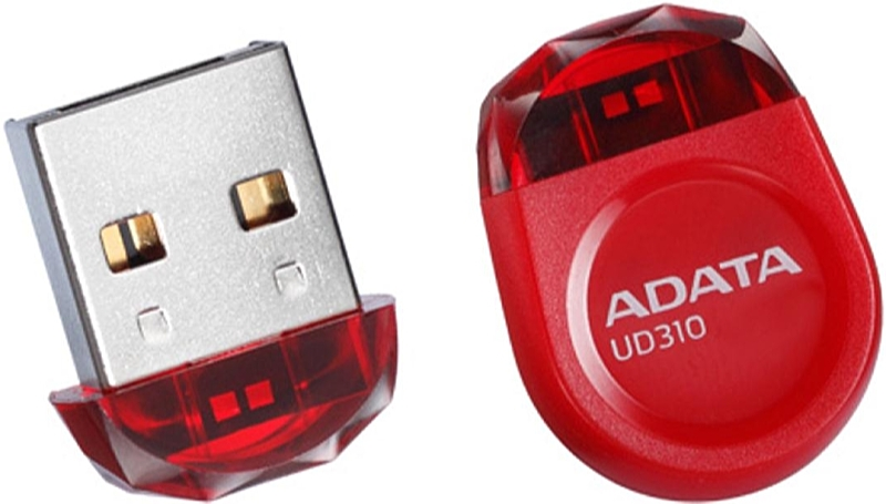 A-DATA - Pendrive - A-DATA AUD310-8G-RRD 8GB USB 3.0 Pendrive, piros