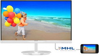 Philips - Monitor LCD TFT - Philips 23' 234E5QHAW/00 FHD IPS monitor, fehér
