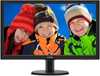 Philips - Monitor LCD TFT - Philips 240V5QDSB/00 23,8' LED IPS FHD monitor, fekete