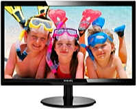 Philips - Monitor LCD TFT - Philips 246V5LHAB/00 24' LED FHD monitor, fekete