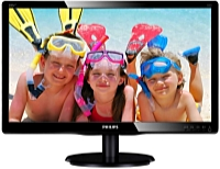 Philips - Monitor LCD TFT - Philips 200V4LAB2/00 19,5' HD+ monitor, fekete