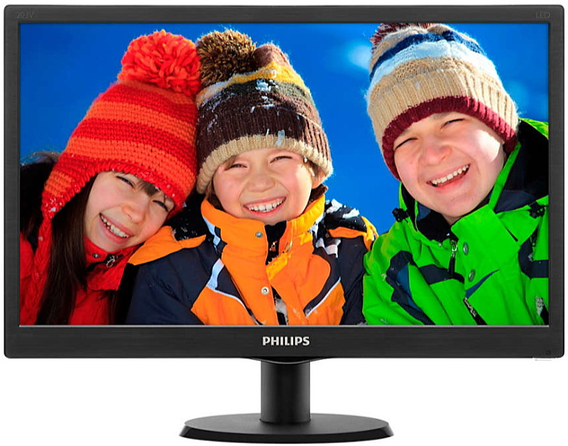 Philips - Monitor LCD TFT - Philips 19,5' 203V5LSB26/10 HD+ minitor, fekete