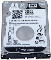 WD - Winchester Notebook - Western Digital Black 2.5' 500GB merevlemez WD5000LPLX