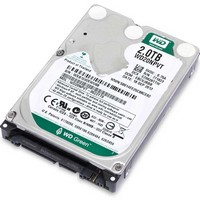 WD - Winchester Notebook - Western Digital WD Green 2TB SATA III notebook merevlemez 15 mm magas !!!