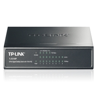 TP-Link - Switch, Tűzfal - TPLink TL-SG1008P 8-Port Gigabit Desktop Switch with 4-Port PoE