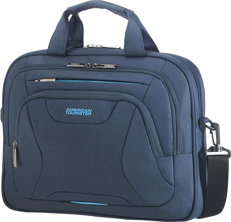 00f0b919cc77 Samsonite American Tourister At Work 14,1' notebook táska, kék (Navy)