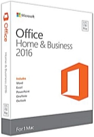 Microsoft - Microsoft - Microsoft Office 2016 MAC Home Business All Langwitch ESD
