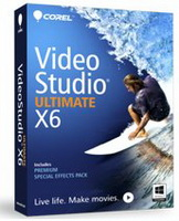 Corel - Egyéb szoftver - Corel VideoStudio Pro X6 Ultimate EN Mini-Box