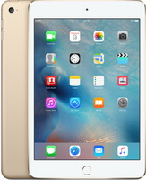 Apple - Tablet-ek - Apple iPad Mini 4 128Gb+Cellular táblagép, arany