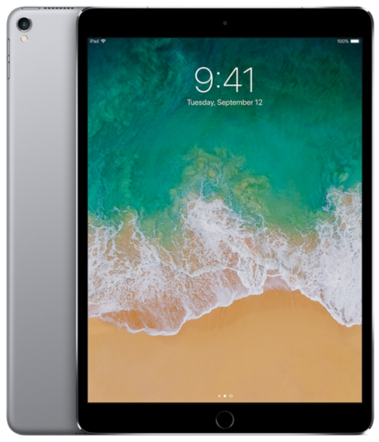 Apple - Tablet-ek - Apple iPad Pro 10,5' 64Gb WiFi, asztroszürke