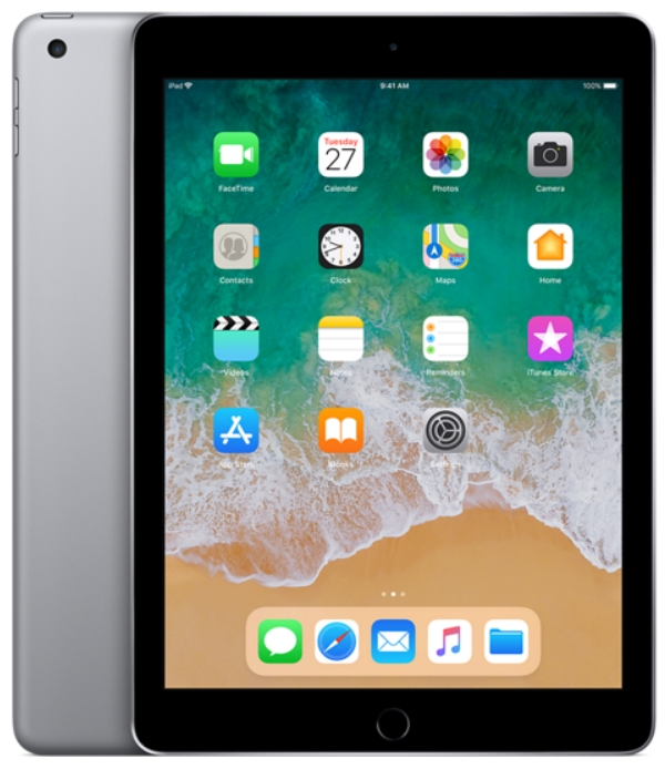 Apple - Tablet-ek - Apple iPad 9,7' 128Gb (2018)WiFi, asztroszürke