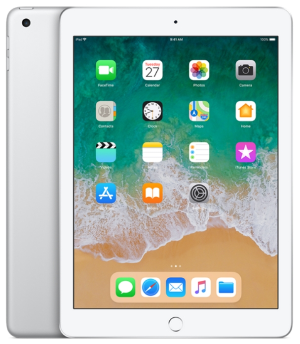 Apple - Tablet-ek - Apple iPad 9,7' 128Gb (2018)WiFi, ezüst