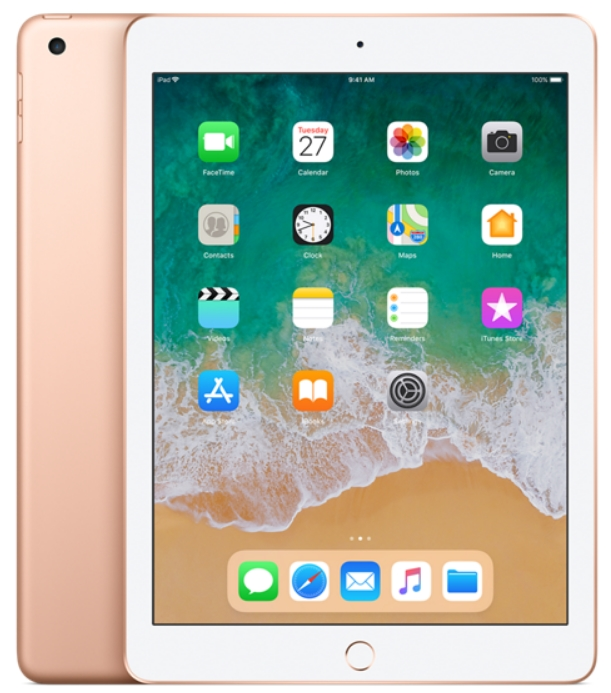 Apple - Tablet-ek - Apple iPad 9,7' 128Gb (2018)WiFi, arany