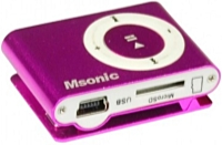 MSONIC - MP3 - Msonic MM3610P MP3 Player, rózsaszín